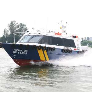 Delivery of 12m High Speed Passenger Boat