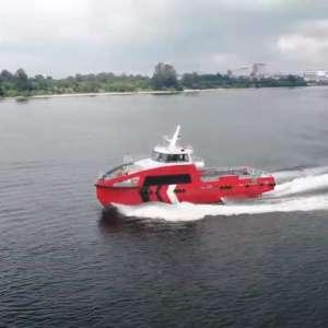 25m High Speed Crew Boat – PSA Summit 5 Video