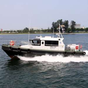 Delivery of 2nd 15m Heavy Duty Pilot Boat