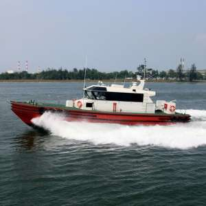 Delivery of Twin 21m Pilot Boats