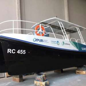 Delivery of Full-Electric Zero Emissions Catamaran